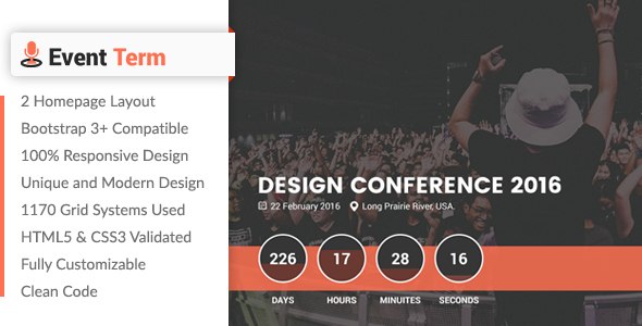 Event Term- Event & Conference HTML Template