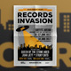 Indie Music Records Flyer Template - GraphicRiver Item for Sale