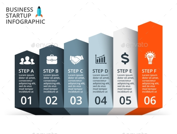 6 up arrows graph startup infographic psd eps ai by graphicseamus 6 up arrows graph startup infographic psd eps ai infographics ccuart Choice Image