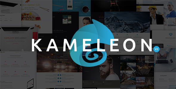 Kameleon – High Quality Multi-Purpose Theme