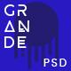GRANDE - Creative Multipurpose PSD Template Nulled