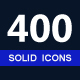 400 Solid Vector Icons