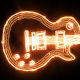 Burning Jazz Guitar - VideoHive Item for Sale