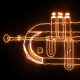 Burning Jazz Cornet - VideoHive Item for Sale