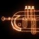 Burning Jazz Cornet - VideoHive Item for Sale