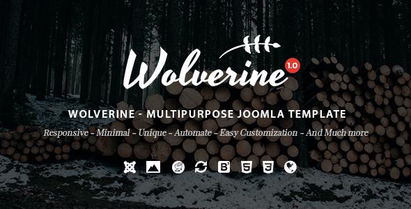 Wolverine – Responsive Multipurpose Joomla Template