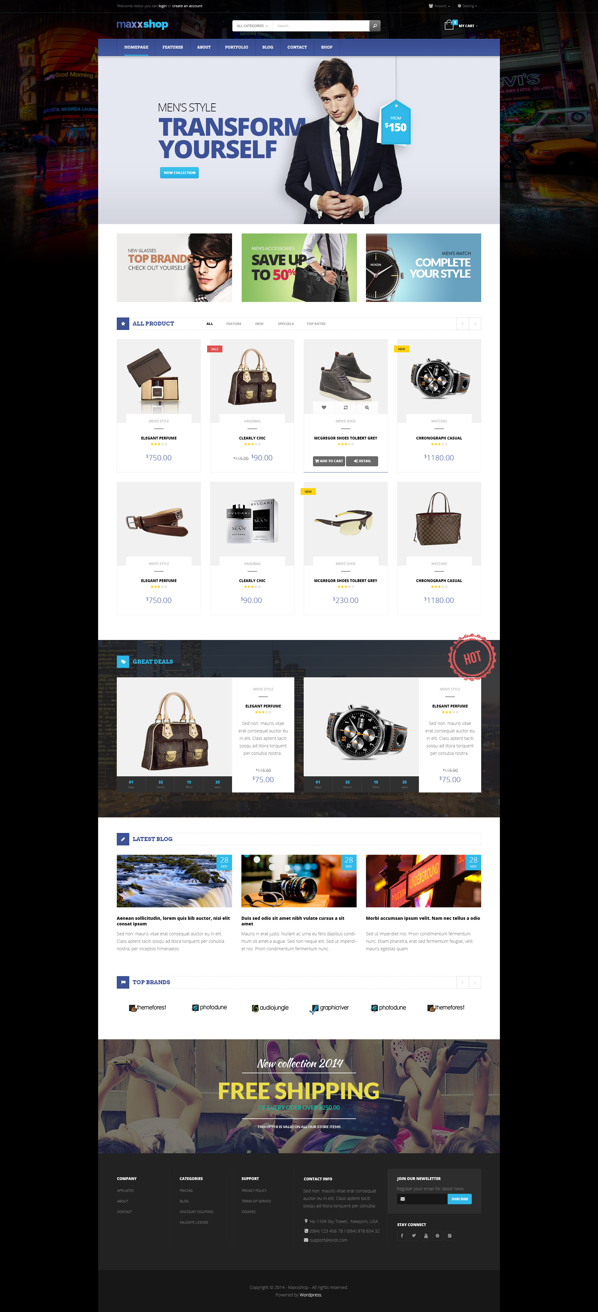 Maxx - Shopify Theme by pavothemes | ThemeForest