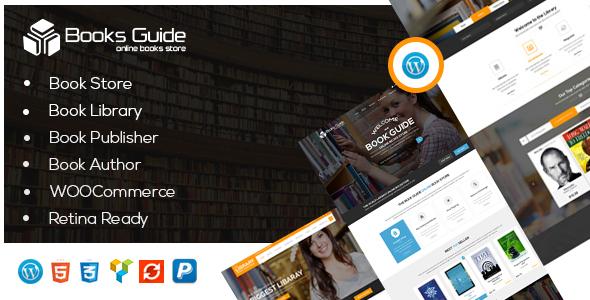 Book Guide - WordPress WooCommerce Store