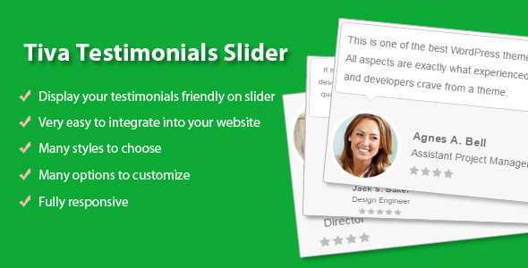 Tiva Testimonials Slider For Wordpress