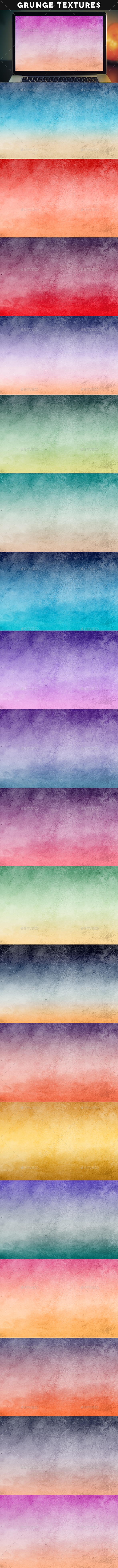 Grunge Sunsets And Sunrises - Abstract Backgrounds