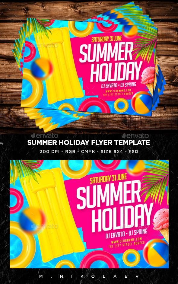 Summer Holiday Flyer V2