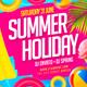 Summer Holiday Flyer V2 - GraphicRiver Item for Sale