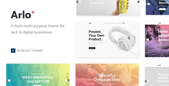 Arlo – A Fresh Theme for Tech & Digital Businesses