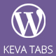 Keva Tabs | WordPress Plugin