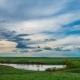 Landscape Clouds Over Lake - VideoHive Item for Sale