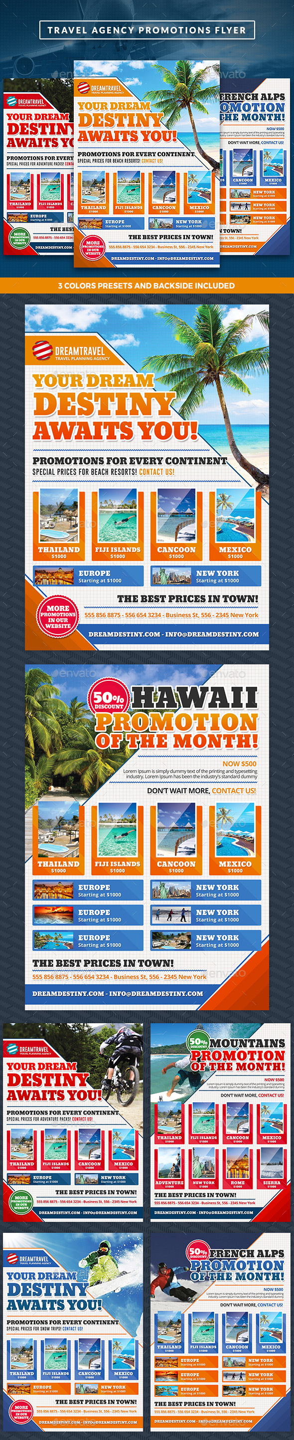 Travel Agency Commerce Flyer - Commerce Flyers