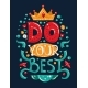 Lettering Phrase Do Your Best