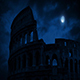 The Roman Colosseum At Night - VideoHive Item for Sale