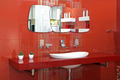 Red bathroom wall - PhotoDune Item for Sale