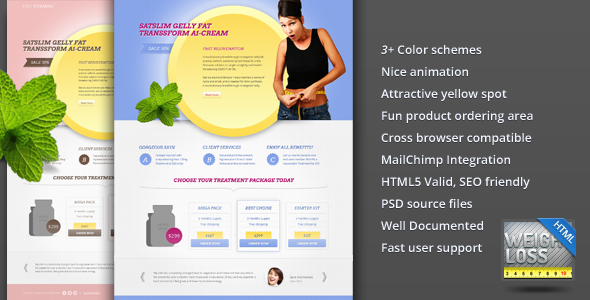 Free Download FAST E Vitamins Weight Loss Landing Page Nulled Latest Version