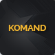Komand Keynote Template - GraphicRiver Item for Sale