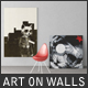 Art On Walls - Canvas Mockups - Frame Mockups - Wall Mockups - GraphicRiver Item for Sale