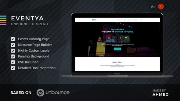 Eventya - Unbounce Landing Page - Unbounce Landing Pages Marketing