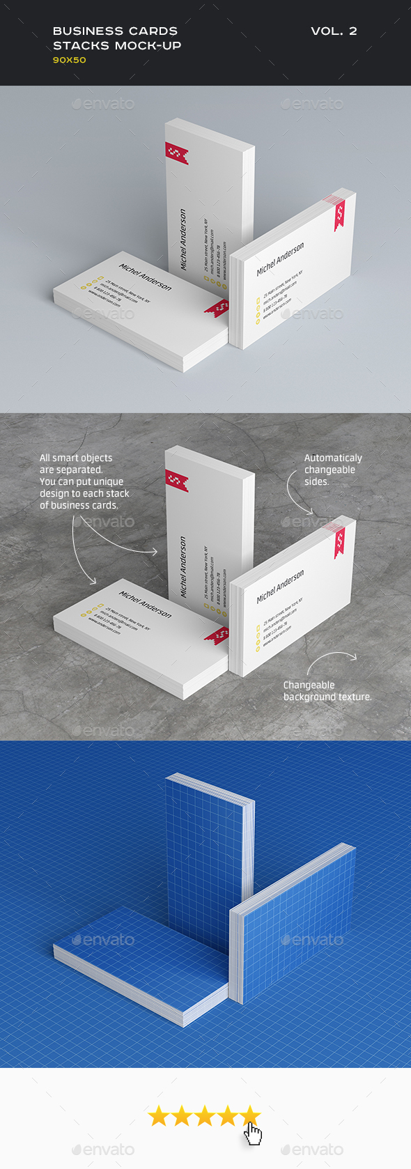 Business cards mock up 90x50 by shumchuk graphicriver business cards mock up 90x50 business cards print reheart Choice Image