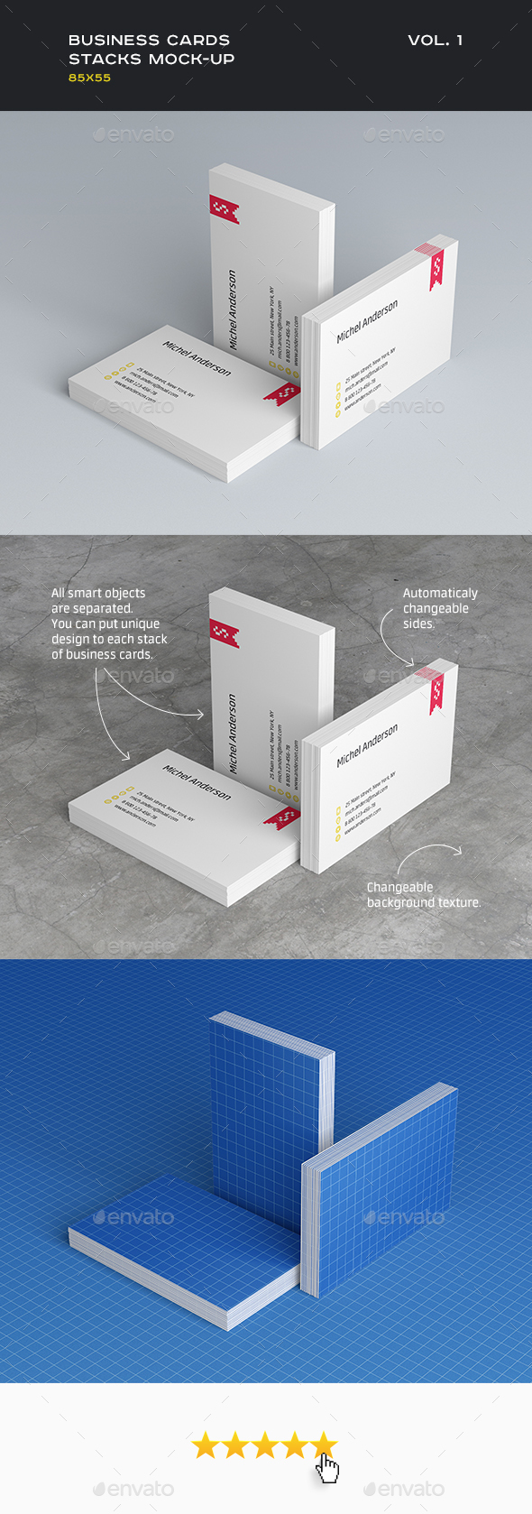 Design business card mockups from graphicriver reheart Choice Image