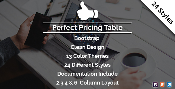 Perfect - Pricing Table - CodeCanyon Item for Sale