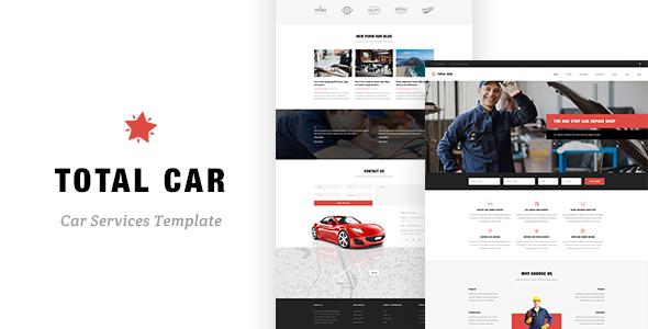 Total Car - Auto Mechanic & Car Repair Template - Business Corporate