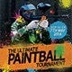 Paintball Tournament Flyer Template - GraphicRiver Item for Sale
