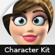 Anna - Character Animation DIY Kit - VideoHive Item for Sale