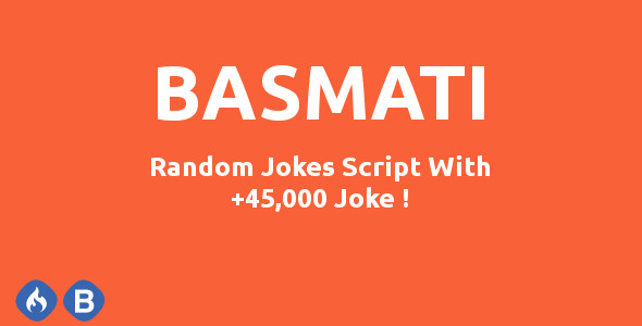 Basmati: Random Jokes Script (With +45,000 Jokes) - CodeCanyon Item for Sale