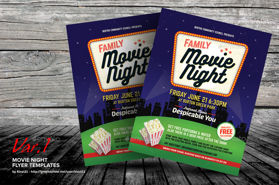 Movie night flyer templates screenshots01graphic river movie night flyer templates kinzi21g maxwellsz
