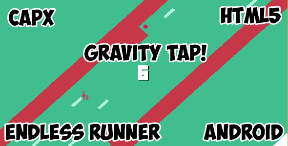 Gravity Tap! HTML5 Mobile Android Game - CodeCanyon Item for Sale