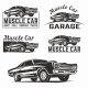 Muscle Car Emblems - GraphicRiver Item for Sale