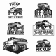 Truck 4X4 Pickup Off-Road  - GraphicRiver Item for Sale