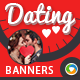 Dating Banners - GraphicRiver Item for Sale