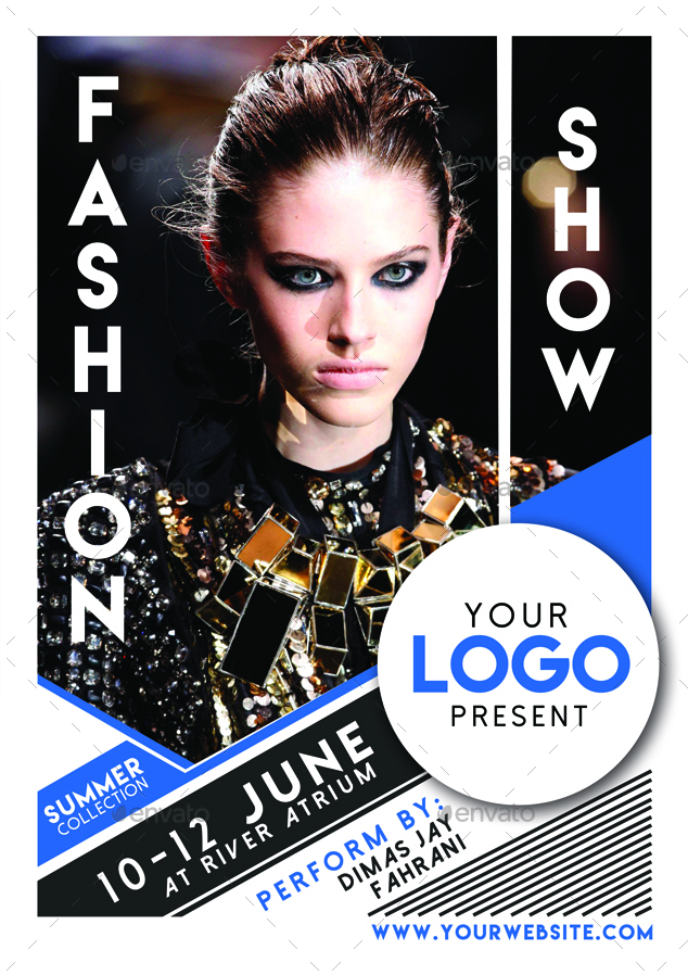 Fashion Show Flyer Poster Vol 2 by Muhamadiqbalhidayat | GraphicRiver