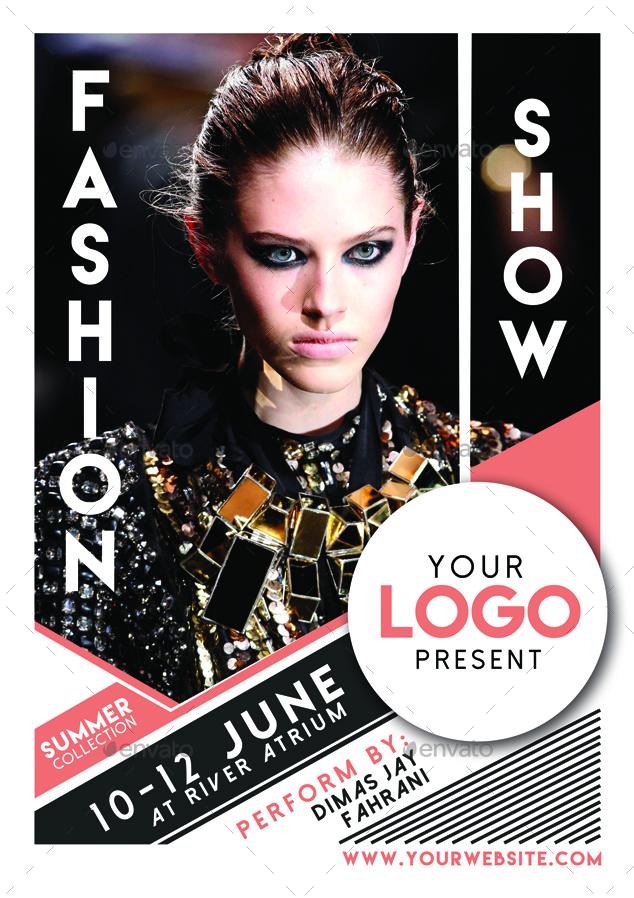 Fashion Show Flyer Poster Vol 2 by Muhamadiqbalhidayat | GraphicRiver