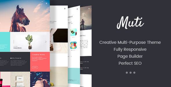 MUTI - Multi-purpose Responsive  Portfolio WordPress Theme