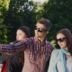 Group Of Young Hipster Sunglasses Makes Selfie - VideoHive Item for Sale