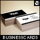 Clean Minimal Business Cards (4 Color Variations) - GraphicRiver Item for Sale