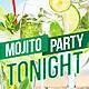 Mojito Party Flyer