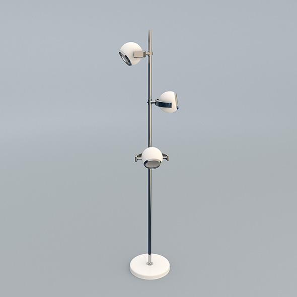 Modern Designer Lamp - 3DOcean Item for Sale