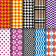 Seamless Fashion Patterns, Vector Set - GraphicRiver Item for Sale