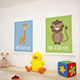 12 Children Room Gallery MockUPs Pack - GraphicRiver Item for Sale
