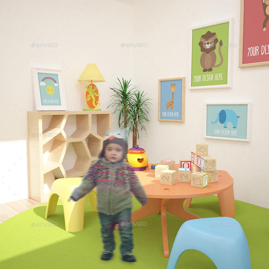 Children S Room Mockups