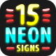 15 Neon Signs - VideoHive Item for Sale